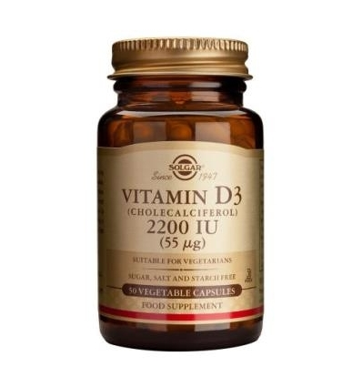 Vitamin D3 2,200iu - Solgar