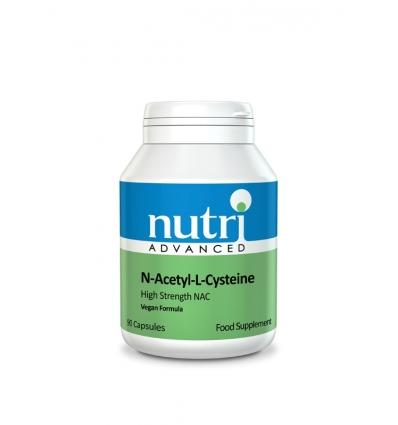 N-Acetyl - L- Cysteine (NAC) - 90 Capsules - Nutri Advanced