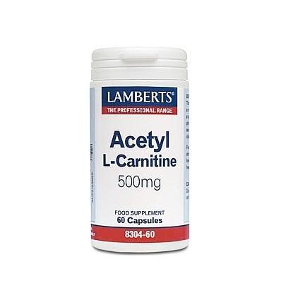 Acetyl L-Carnitine 500mg - 60 Capsules - Lamberts
