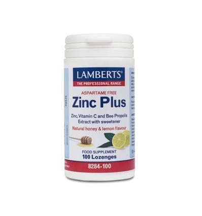 Zinc Plus Lozenges - 100 Lozenges - Lamberts