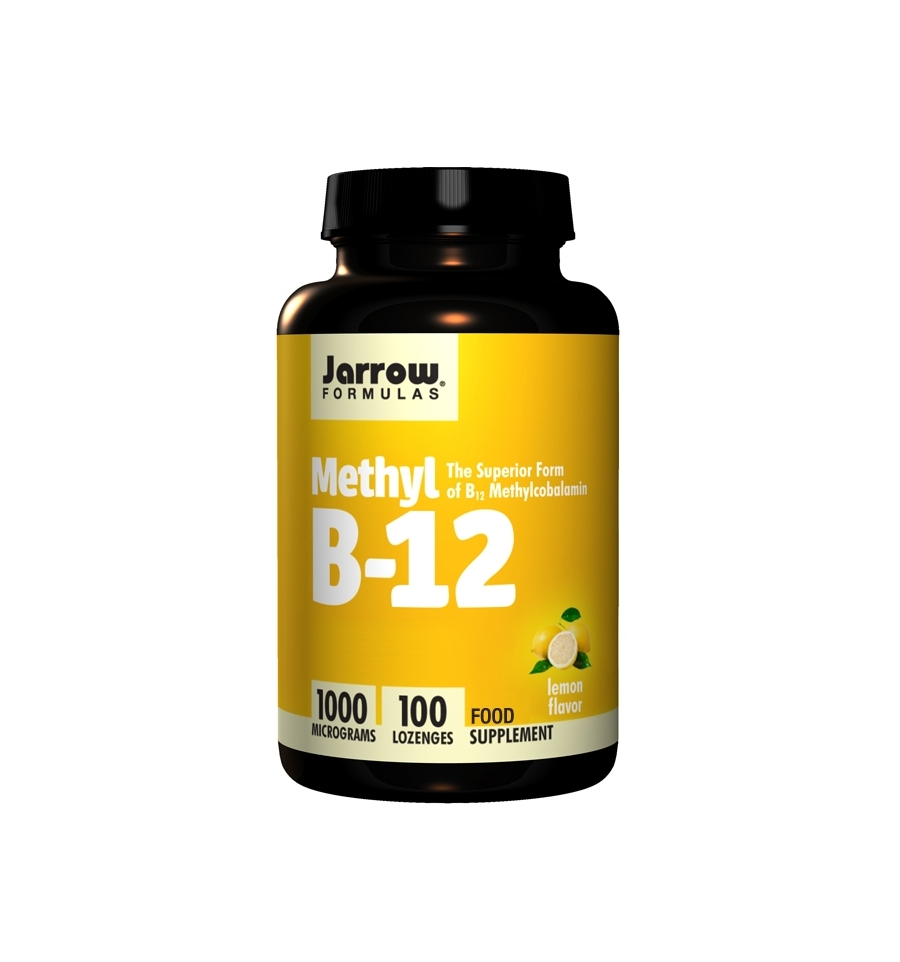 methyl b12 1 000mcg vitamin b12 100 lozenges jarrow formulas vitality vitamins ltd. Black Bedroom Furniture Sets. Home Design Ideas