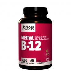 Methyl B12 5,000mcg (Vitamin B12) - 60 Lozenges - Jarrow Formulas®