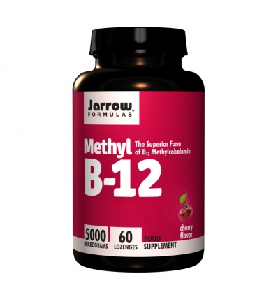 Methyl B12 5,000mcg (Vitamin B12) - 60 Lozenges - Jarrow Formulas®