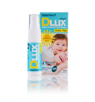 DLux Infant Vitamin D Oral Spray - 15ml - Better You