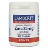 Zinc 25mg as Citrate - 120 Tablets - Lamberts