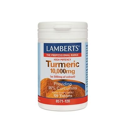 Turmeric 10,000mg - 120 Tablets - Lamberts