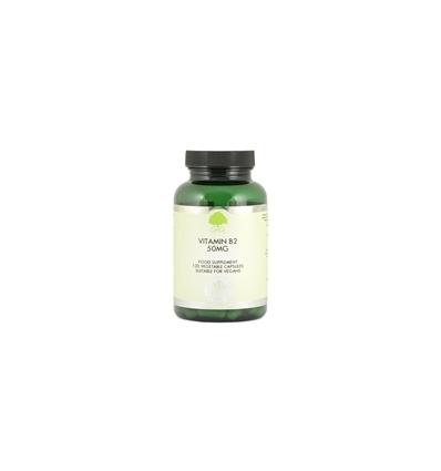Vitamin B2 50mg (Riboflavin) - 120 Trufil™ Vegetarian Capsules - G & G New Formula