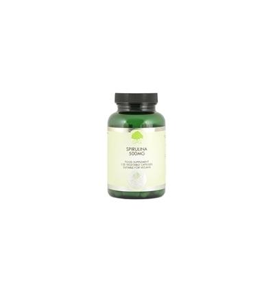 Spirulina 500mg - 120 Trufil™ Vegetarian Capsules - G & G