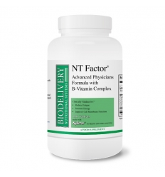 NT Factor (with B Vitamins) Advanced Physician's Formula - 150 Tablets - Nutritional Therapeutics