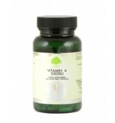 Vitamin A 5,000iu - 120 Trufil™ Vegetarian Capsules - G & G