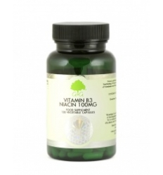 Vitamin B3 Niacin 100mg - 120 Trufil™ Vegetarian Capsules - G & G