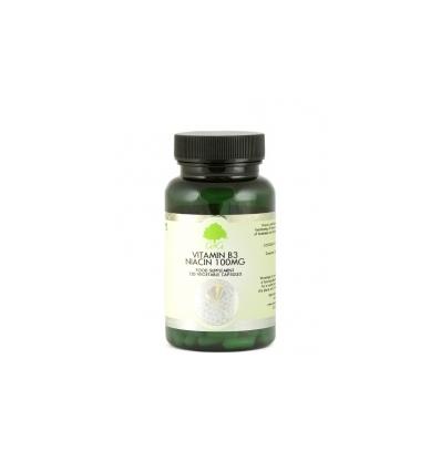 Vitamin B3 Niacin 100mg - 100 Trufil™ Vegetarian Capsules - G & G