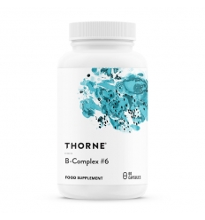 B Complex No.6 - 60 Vegi Capsules - Thorne Research