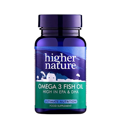 Omega-3 Fish Oil - 90 Capsules - Higher Nature®