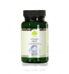 Vitamin A 10,000iu & D 400iu - 120 Trufil™ Vegetarian Capsules - G & G