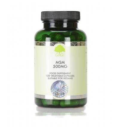 MSM 500mg - 100 Trufil™ Vegetarian Capsules - G & G