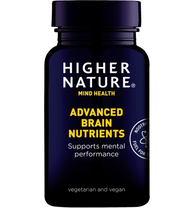 Brain Nutrients - 90 Capsules - Premium Naturals - Higher Nature®