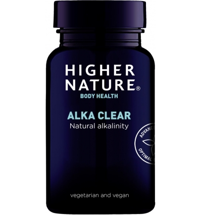 Alka Clear - 180 Vegetarian Capsules - Higher Nature®